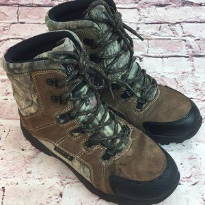 Men's Rocky Camo Boots Brown Size 6 Mens work